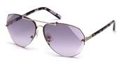 Vásárolja meg vagy tekintse meg nagy méretben a Swarovski Eyewear modell képét SK0134-28Z.