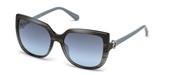 Vásárolja meg vagy tekintse meg nagy méretben a Swarovski Eyewear modell képét SK0166-86X.