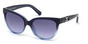 Vásárolja meg vagy tekintse meg nagy méretben a Swarovski Eyewear modell képét SK0187-92W.