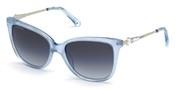 Vásárolja meg vagy tekintse meg nagy méretben a Swarovski Eyewear modell képét SK0189-90W.