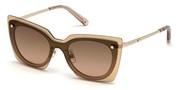 Vásárolja meg vagy tekintse meg nagy méretben a Swarovski Eyewear modell képét SK0201-28T.