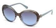 Vásárolja meg vagy tekintse meg nagy méretben a Swarovski Eyewear modell képét SK0204-86X.